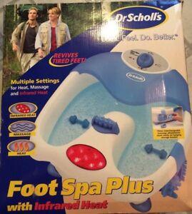 dr scholls foot spa plus - excellent condition