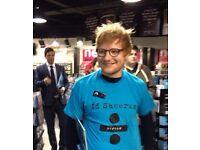 Ed Sheeran Concert - Birmingham (Barclaycard Arena) Tickets x 2 Standing