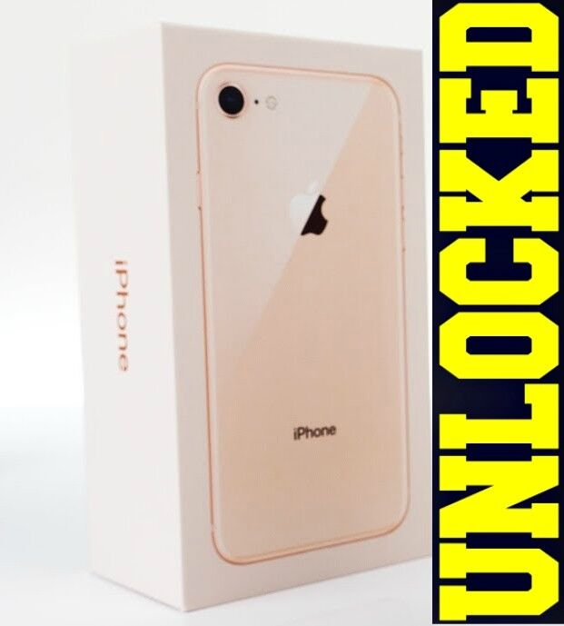 Apple iPhone 8 64GB | 256GB (GSM UNLOCKED) BLACK | SILVER | GOLD | RED *NEW*