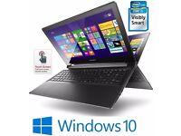 Touchscreen Lenovo Flex 15 Convertible Laptop - Black - Intel Core i5