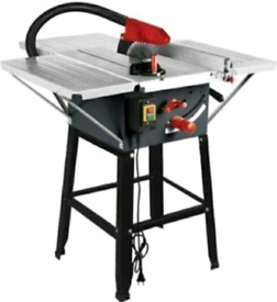"""TABLE SAW 1800W 10"""" BLADE WITH 3 STEEL TABLE EXTENSIONS Dirtyprotools"""