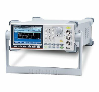 Gw Instek Afg-3031 30mhz 1 Channel Arbitrary Function Generator Afg Awg 250mss
