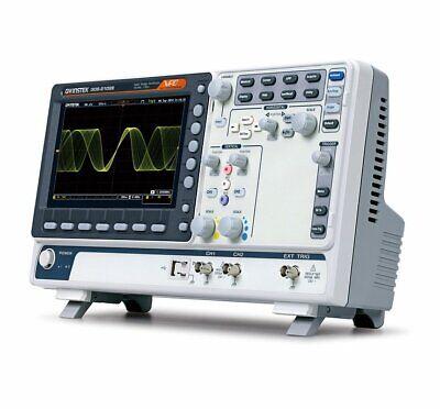 Gw Instek Gds-2202e Digital Storage Oscilloscope 200mhz 2 Channel 1gss Dso Vpo