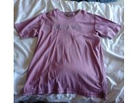 Mens Ted Baker t shirt M size 4 violet worn once