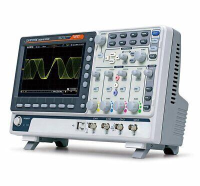 Gw Instek Gds-2204e Digital Storage Oscilloscope 200mhz 4 Channel 1gss Dso Vpo
