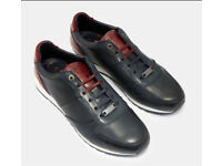 Ted Baker men's leather trainers -New
