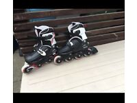 Adjustable Roller blades skates size 1-4