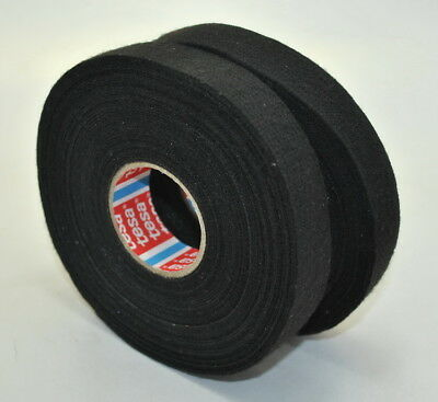 WIRING CABLE LOOM HARNESS CLOTH FABRIC INSTALLATION TESA TAPE ROLL 19MM X 25M