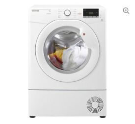 NEW GRADED !!! HOOVER 8KG HL C8DCG CONDENSOR TUMBLE DRYER - WHITE WITH 12 MONTHS WARRANTY RRP £239