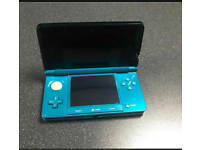 Nintendo 3DS Aqua Blue With Charger