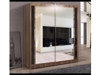 Brand new mirrored doors sliding wardrobes /sizes available