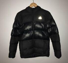 Black adidas puffer jacket