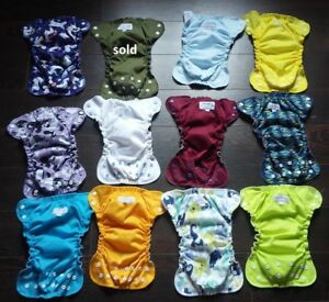 AppleCheeks Cloth Diapers Size 1