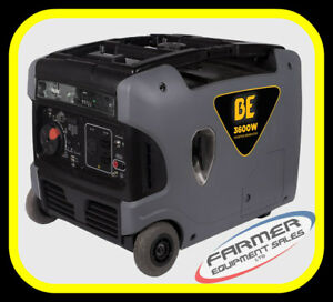 3600 watt INVERTER GENERATOR, super quiet, ELEC. START -IN STOCK