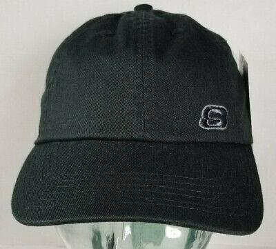 404aad5a Skechers Hat Cap Black on Black Strapback Youth Dada RARE PROTOTYPE SAMPLE!  NEW!