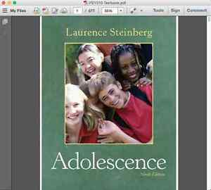 Adolescence - 9th Edition - Laurence Steinberg