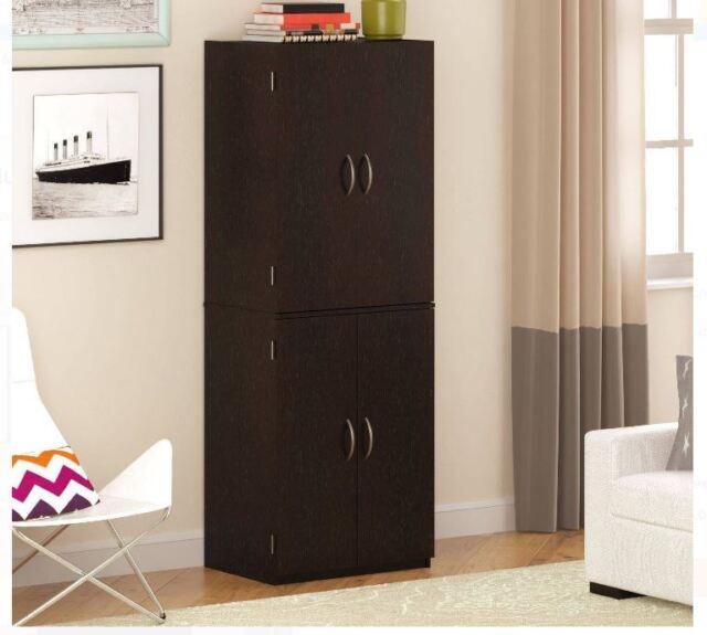 Cabinet Storage Kitchen Organizer Wood Furniture Pantry Bathroom ...