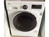 8kg LG direct drive washer, chrome design,excellent cond,4 months warranty,free delivery