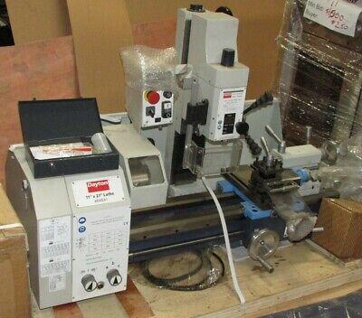 Dayton 48we41 Combination Lathemilling Machine 115vac W48we42 Stand