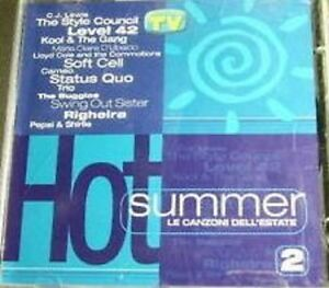 Various-Hot-Summer-Le-Canzoni-Dell-039-Estate-2-CD-Compilation