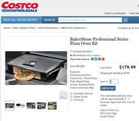 Baker Stone Professional Stone Pizza Oven Kit