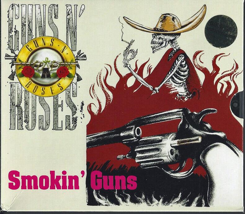 ORIGINAL VINTAGE GUNS N ROSES SMOKIN GUNS 6 CDs 1 DVD  - $120.00