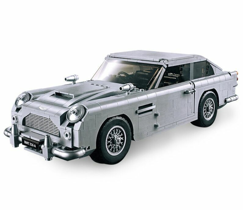 LeGoing 007 James Bond DB5 Classic Car Aston Martin Building Blocks Bricks Sets Cars, Trucks & Vans