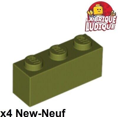 3622 Lego medium nougat brick 1x3 ,10 parts
