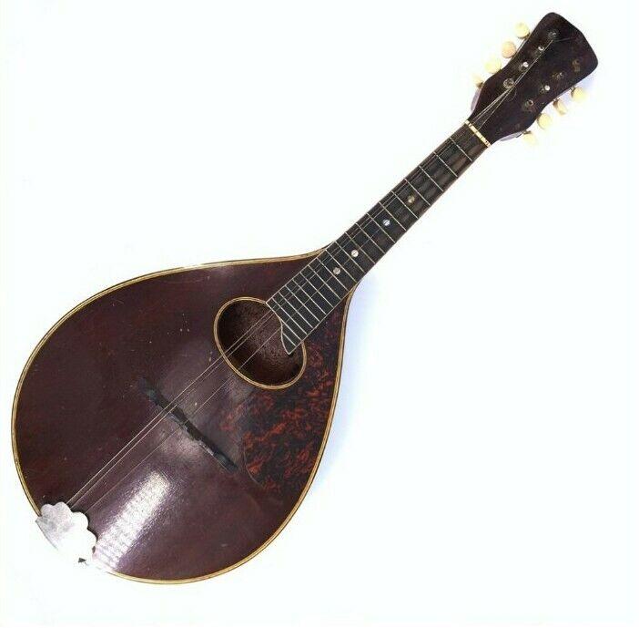 8 string 1920s- 1930s Regal mandolin.. great shape .