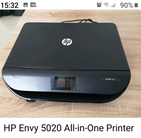 HP 5020 ALL IN ONE WIRELESS PRINTER