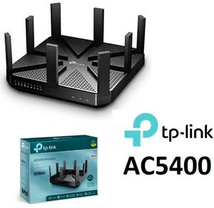NEW TP-LINK AC5400 WIRELESS TRI-BAND GIGABIT ROUTER