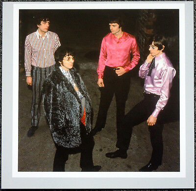 PINK FLOYD POSTER PAGE 1967 SYD BARRETT ROGER WATERS NICK MASON RICK WRIGHT .H16
