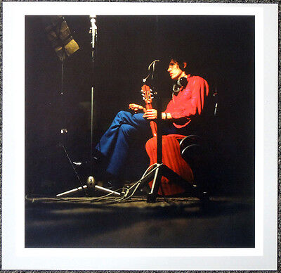 PINK FLOYD POSTER PAGE 1967 ROGER WATERS EMI ABBEY ROAD RECORDING STUDIO . H15