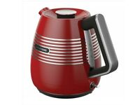 Brand New Red Grundig Kettle and Toaster