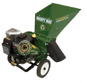 2 LEFT Chipper / Mulcher by Mighty Mac GR8 for domestic yards Eden Hill Bassendean Area Preview