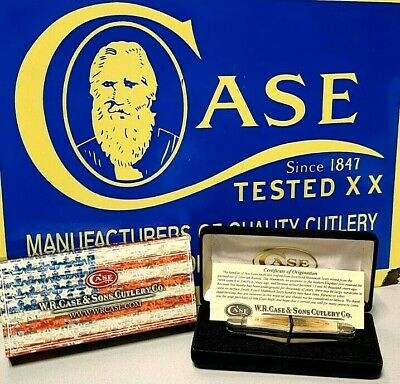 EXTREMELY RARE MAMMOTH CASE XX HALF WHITTLER KNIFE SFO EXOTIC MAMMOTH A KNOCKOUT