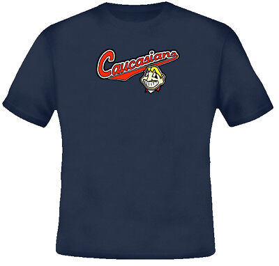 Cleveland Funny Parody Baseball Caucasian T Shirt -sizes Youth to 5XL available Baseball Youth T-shirt