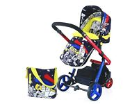 Cosatto Woop Pram/ Travel System - almost new!