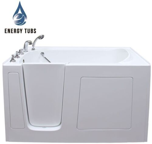 """30"""" x 60"""" Fully Loaded Hydrotherapy Walk In Bath Tubs - Left Door"""