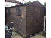 12x6 Garden Shed. Solid. Sturdy.