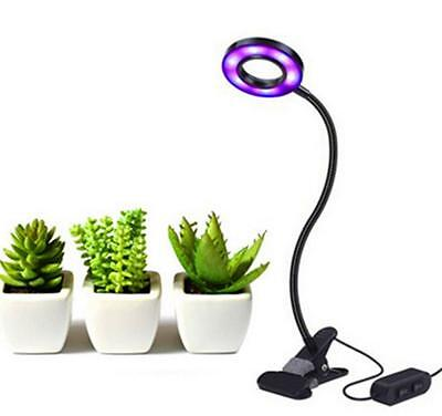 US 10W Led Grow Light Profession Plant Lamp for Indoor Plants 6 Level Adjustable