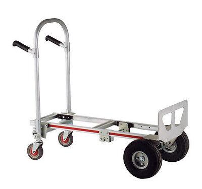 Magliner Gemini Jr Convertible Hand Truck W 1010 Microcellular Tires