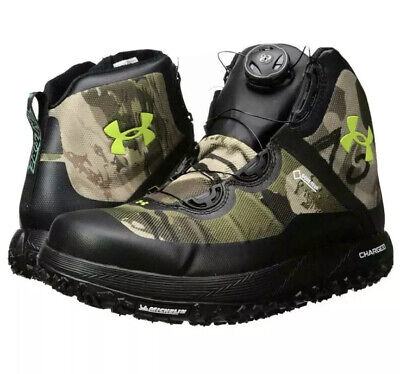 NEW Under Armour Fat Tire GTX Hiking Boots 1262064-900 Ridge Barren Camo Size 9