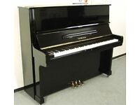 Upright Piano - Yamaha P121N - Polished Ebony
