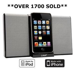 LAVA-iPod-Nano-Touch-iPhone-4S-4-3GS-ALTOPARLANTE-PORTATILE-DOCK-DOCKING-STATION-NUOVA