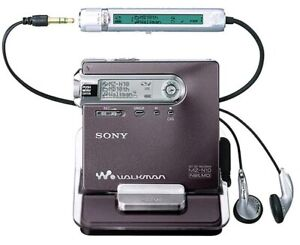 """Sony mz-n10 """"The King"""" minidisc recorder REAL DEAL!!"""
