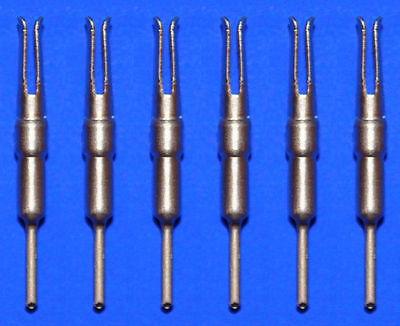 14 Nixie Röhren Fassung Buchsen Tube Socket tubes pins receptacles IN-18 gold