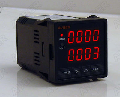 DIGITAL TIMER, COUNTER, TACHOMETER, 9~48VDC POWERED
