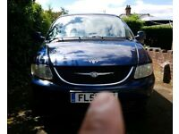 Chrysler Voyager 2.5 2002 reg51 7seater