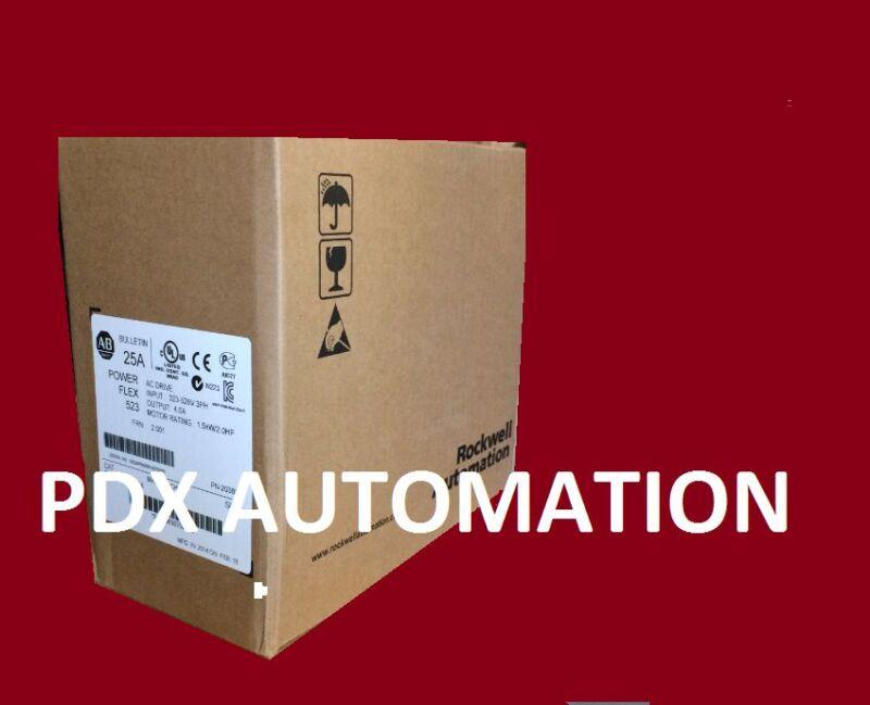 2020 Sealed 1 Year Warranty 25AD6P0N104 Poweflex  3HP, Catalog 25A-D6P0N104